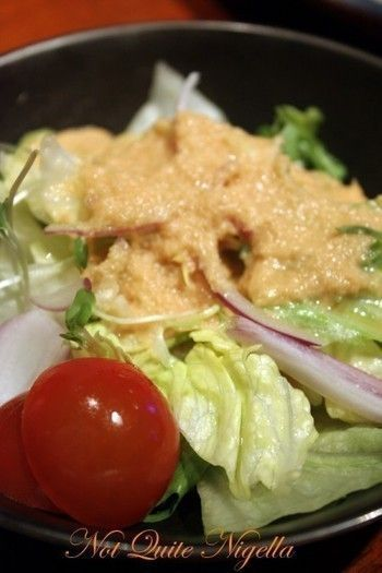 Benihana Ginger Salad Dressing Recipe - I have been looking for this like crazy. Yeahhh finally found it!