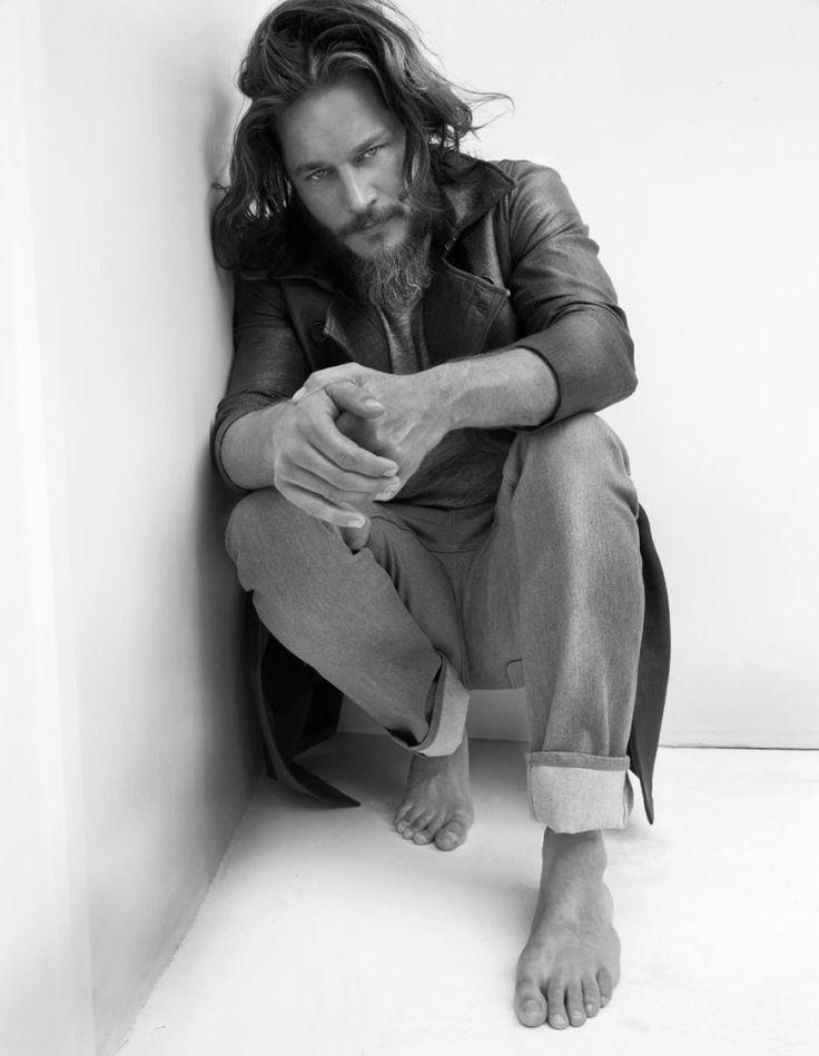 Flaunt Magazine | People: Travis Fimmel - He looks like a lion!