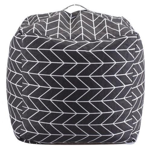 Found it at Wayfair - Geometric Bean Bag Chair