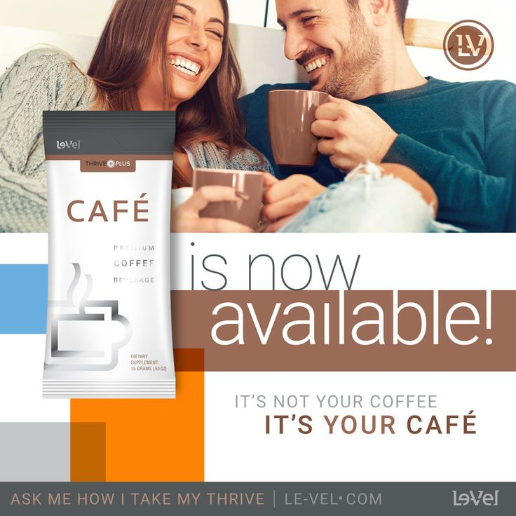 Le-Vel Introduces Thrive Caf�  Premium mocha-flavored beverage offers more nutritious alternative to your morning joe