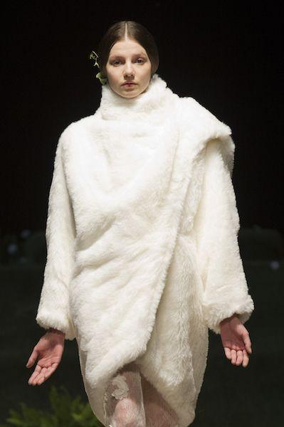 cappotto abito da sposa Fielden