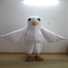 hola erwachsene realistische weiße taube kostüme