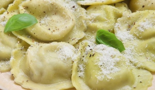 Learn how to prepare Ravioli. Knead a soft flour from the sifted flour, egg, sal...