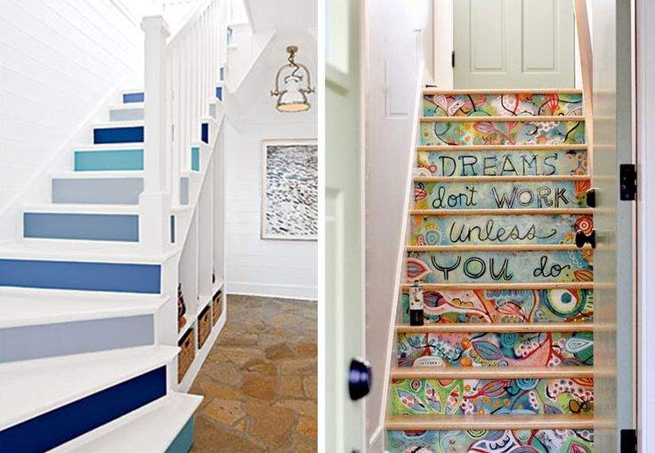 Decoration escaliers 1 - BnbStaging le blog