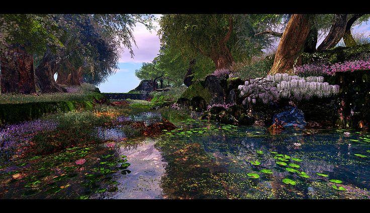 Fantasy Faire 2013 - Fairelands Junction ~ The Vale of Rememberances 1