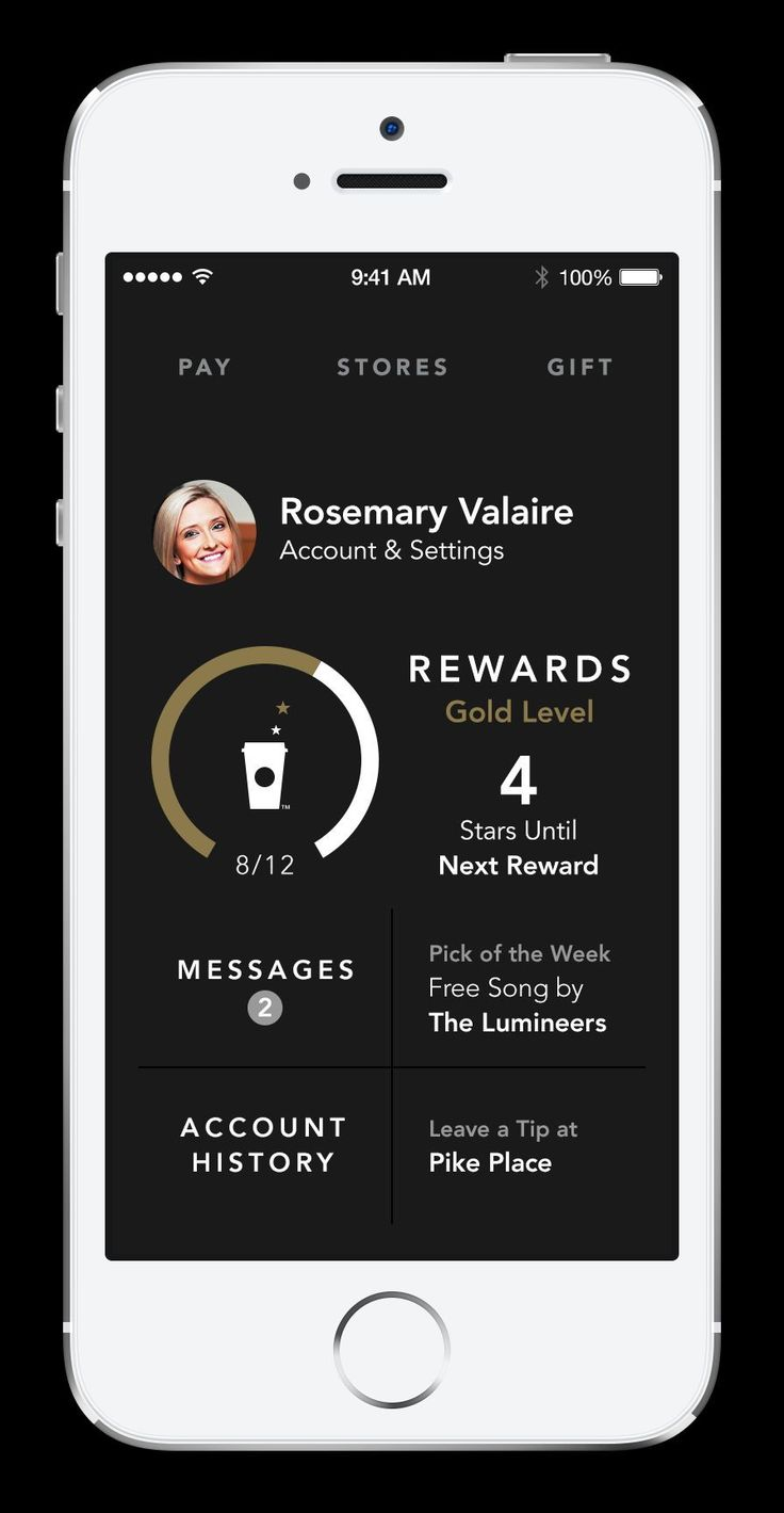 """The My #Starbucks Rewards™ screen has been redesigned to streamline viewing of Rewards history. The display also features new transaction types, such as multiple transactions in a single day and promotional offers, in one integrated view."" 