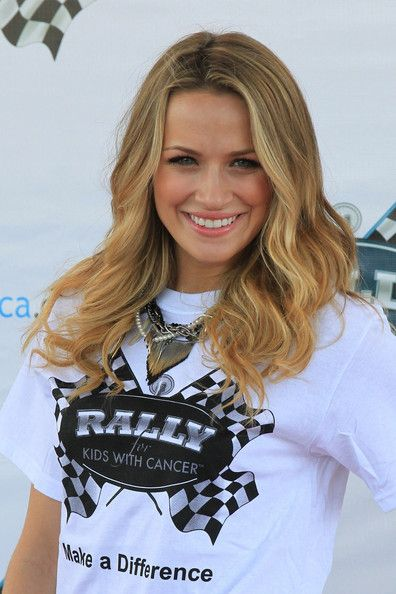 """Shantel VanSanten Shantel Van Santen lends her support at """"The Rally for Kids with Cancer Scavenger Cup"""". The event was hosted at the Eden R..."""