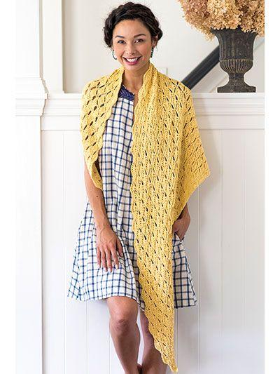 Crochet Shawl Patterns – Caverly Shawl Pattern