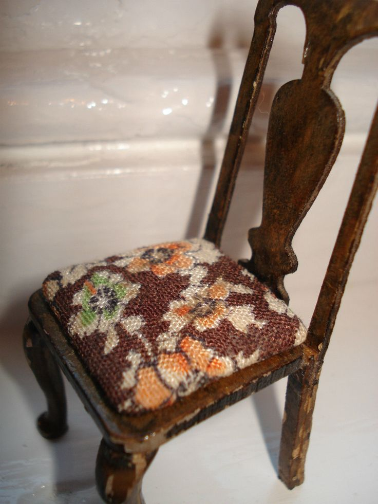 Vintage Dolls' House Triang Lines Bros Period Furniture Chair in Box (1) | eBay