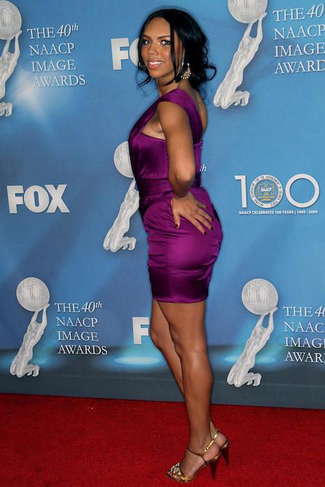 Kiely Williams at 40th NAACP Image Awards in February 2009...