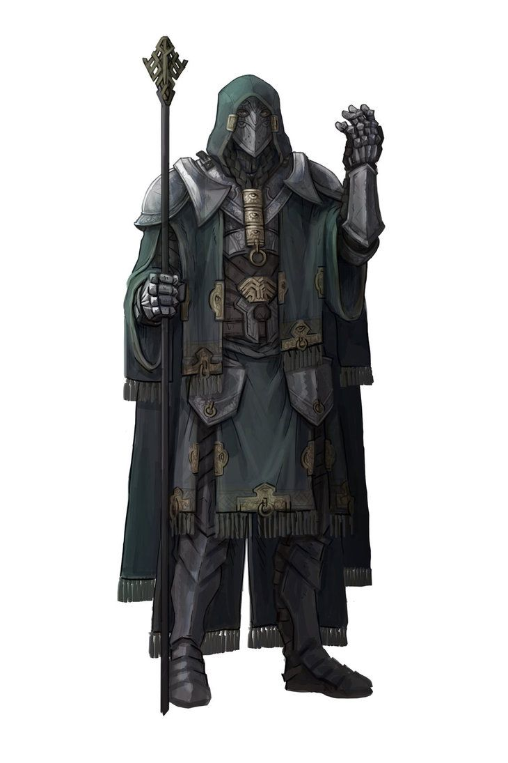 Character Concept art: Mage by kenji893.deviantart.com on @DeviantArt