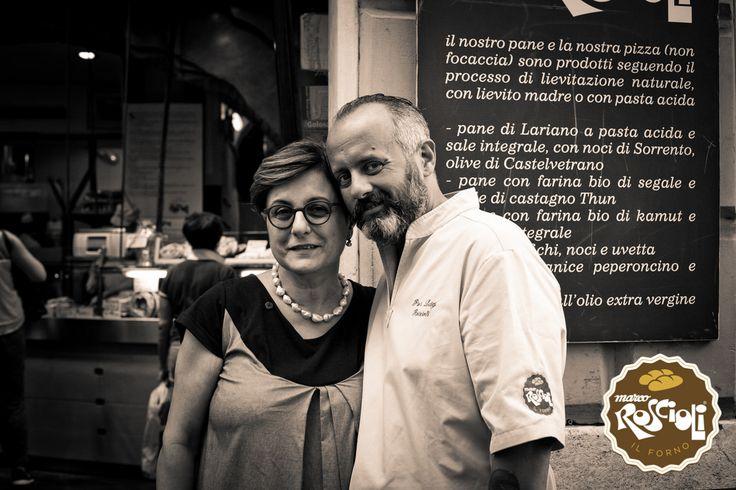Madam Rita and Pier Lugi Roscioli