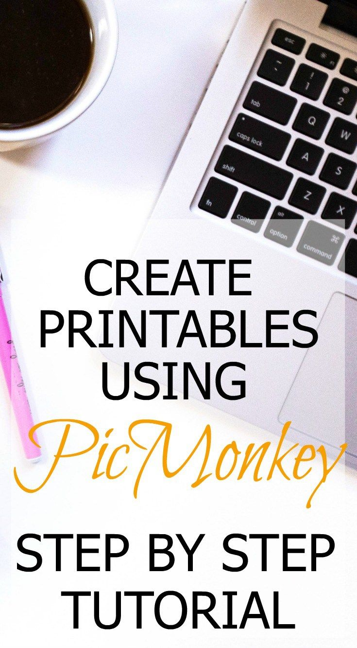 Use the Picmonkey design tool to make free printables for your blog or to sell on Etsy. Free Tutorial on how to edit and create documents and free printables.