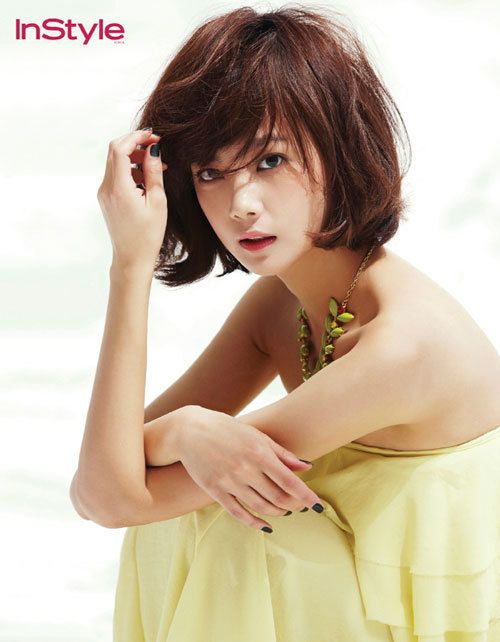 Yoon Seung-ah, beautiful.
