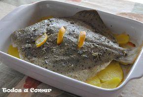 El rodaballo es uno de los pescados blancos que más nos gusta en casa. Nos parece un pescado de tal calidad que en las preparaciones más sencillas es como más delicioso está. En este caso lo cocinamos al horno.