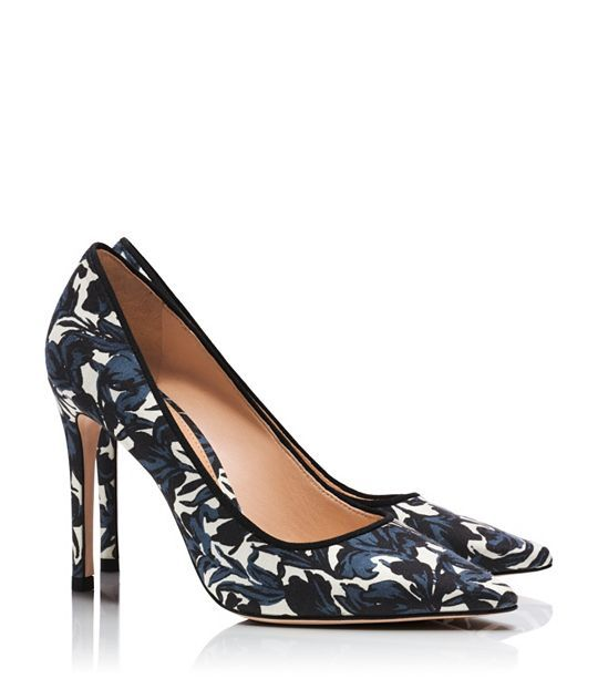 Tory Burch Floral Pump