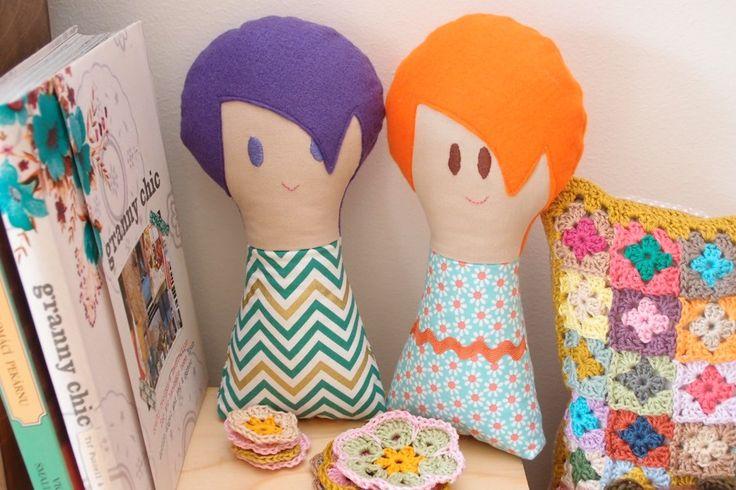 Dolls - as a decoration, as a toy  www.vjahodovce.blogspot.com