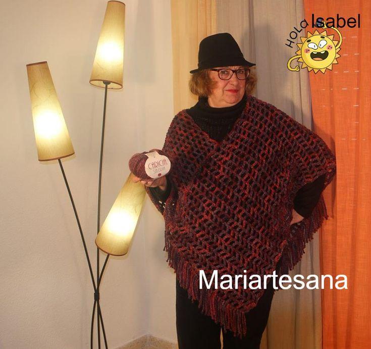 Otro tuto,.. poncho con flecos facil, tambien la presentacion de Isabel, otra integrante de Mariartesana. Deseo que os guste, ....todo lo hacemos con mucho cariño. Bless😗 https://www.youtube.com/watch?v=lJOyaNvXZtk&t=25s