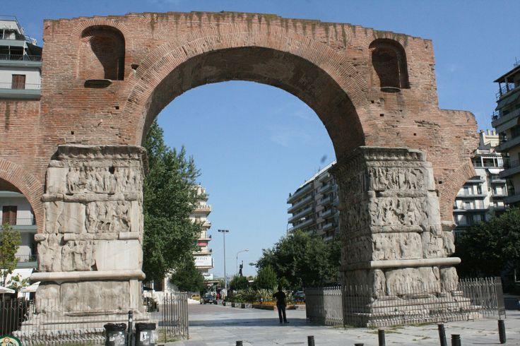 Galerius' Triumph  Arch, Thessaloniki, Greece.