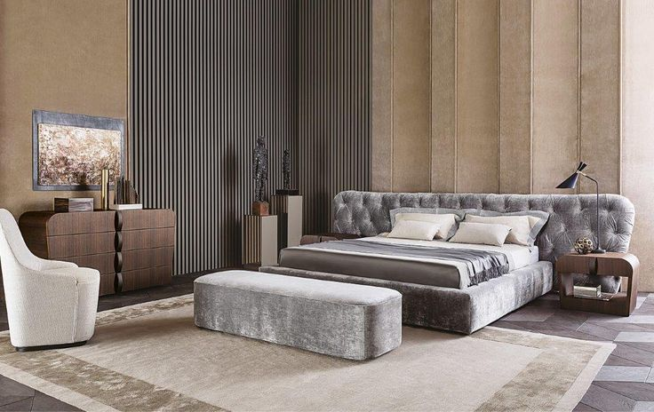 SWEET DREAMS Casamilano presents ROYALE bed, proposed with tufted heeadboard. Design Castello Lagravinese Home collection 2016 www.casamilanohome.com #casamilano #royalebed #castellolagravinese #milan #homecollection