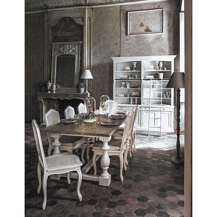 Grijze GARANCE houten hoge spiegel H 180 cm | Maisons du Monde