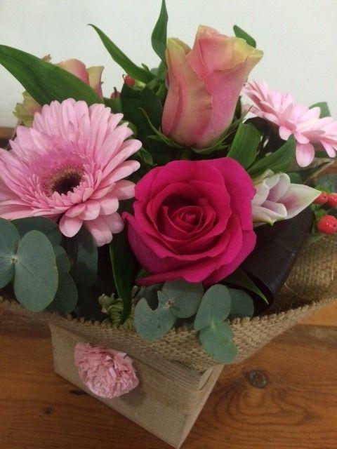 Burlap & Roses