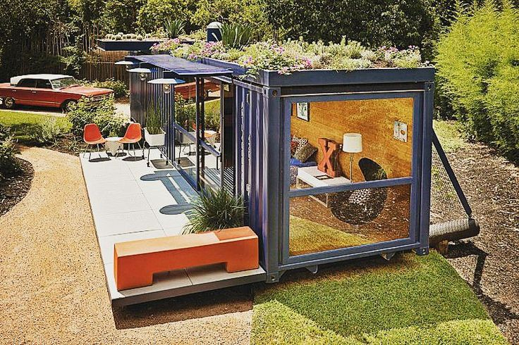 Simples e linda. #casacontainer #casa #containerhouse #containerhome #container #sustentabilidade #lifestyle #container #diy