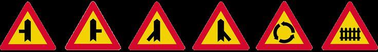 σηματα κοκ - Όλα τα σήματα του ΚΟΚ - πινακίδες αναγγελίας κινδύνου 6