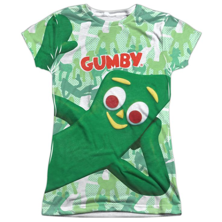 Gumby: Gumbyflage Sublimated Junior T-Shirt