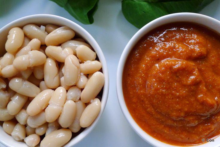 Barbecuesaus (vegan) recept ~ minder koolhydraten, maximale smaak ~ www.con-serveert.nl