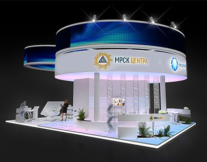 """Check out new work on my @Behance portfolio: """"Exclusive MRSC Centro Exhibition Booth""""…"""