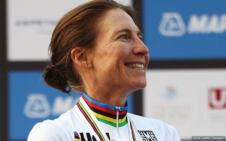Amber Neben (born February 18, 1975) is an American racing cyclist who won the UCI world time trial championship in 2016 and 2008 as well as the U.S. national road race championship in 2003.