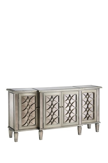 Lyric Antique Mirror Credenza Cabinet by Old Hollywood Glamour on @HauteLook