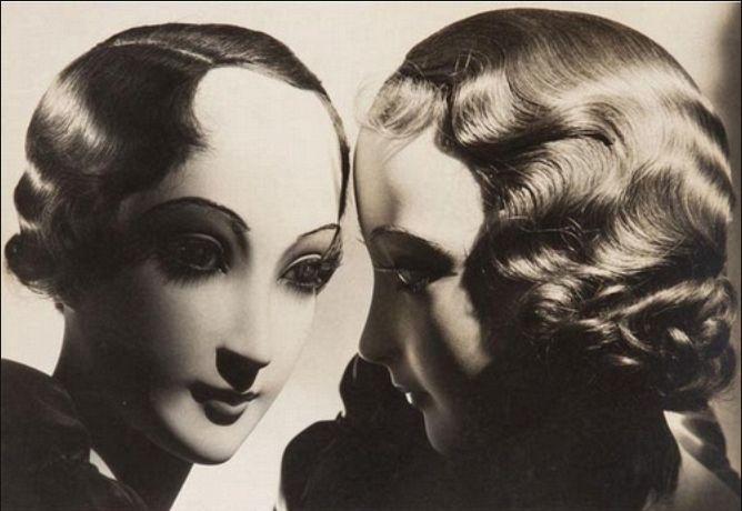 Dora Maar. Deux têtes de mannequins coifées, París anys 30.