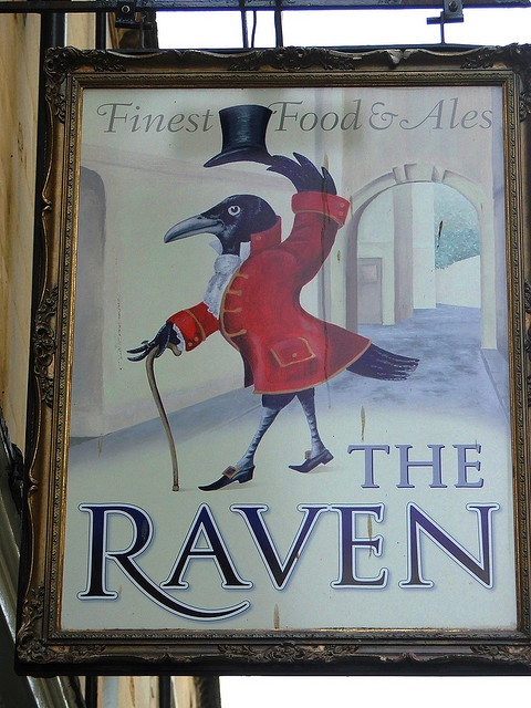 Pub sign, Bath by lurcherlad, via Flickr