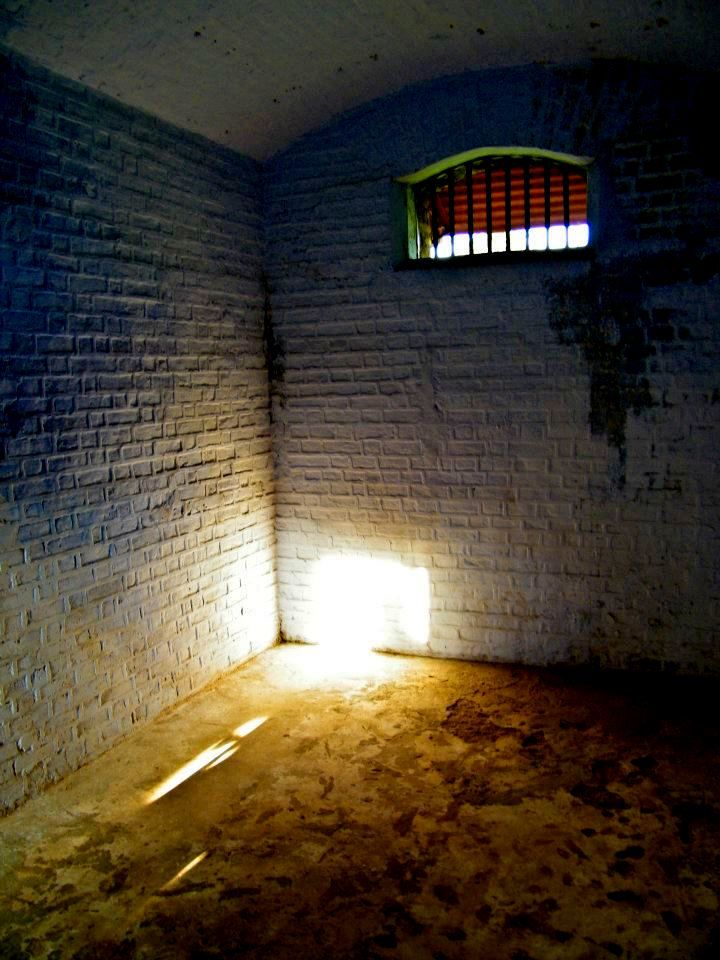 Cell inside the jail. To know more about Cellular Jail check http://www.experienceandamans.com/cellularjail.php #Andamans #CellularJail