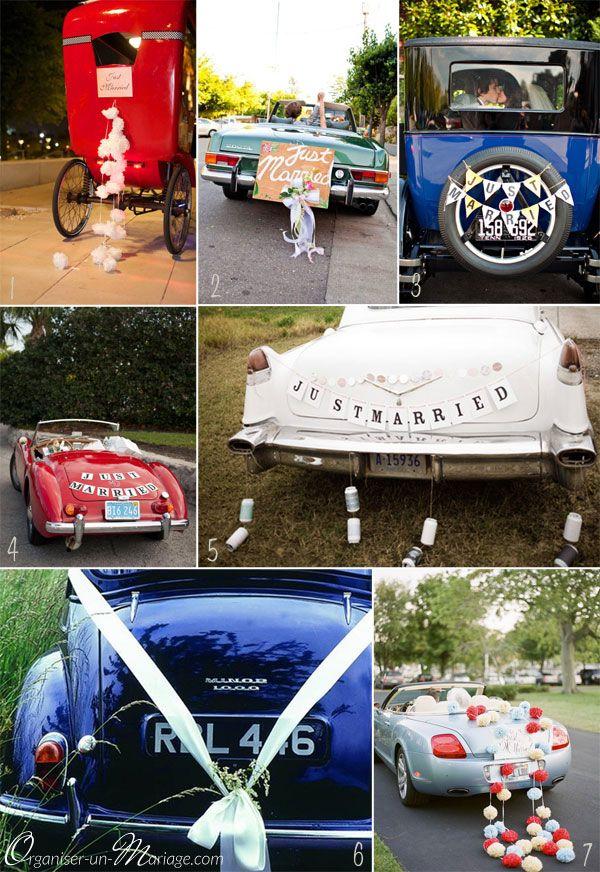Avez-vous pensé à la déco de la voiture ? | Le blog organiser un mariage