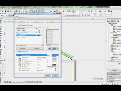 ArchiCAD 15 tutorial_slope concrete for flat roof (RPortierProductions).avi - YouTube