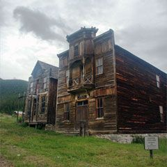 Montana State Parks :: Elkhorn; ghost town between Butte and Helena
