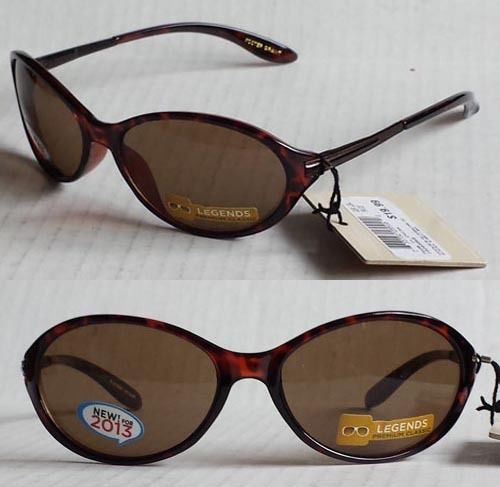 #women sunglasses Foster Grant tortoise brown with spring loaded hinges (with black pouch)~~ withing our EBAY store at  http://stores.ebay.com/esquirestore
