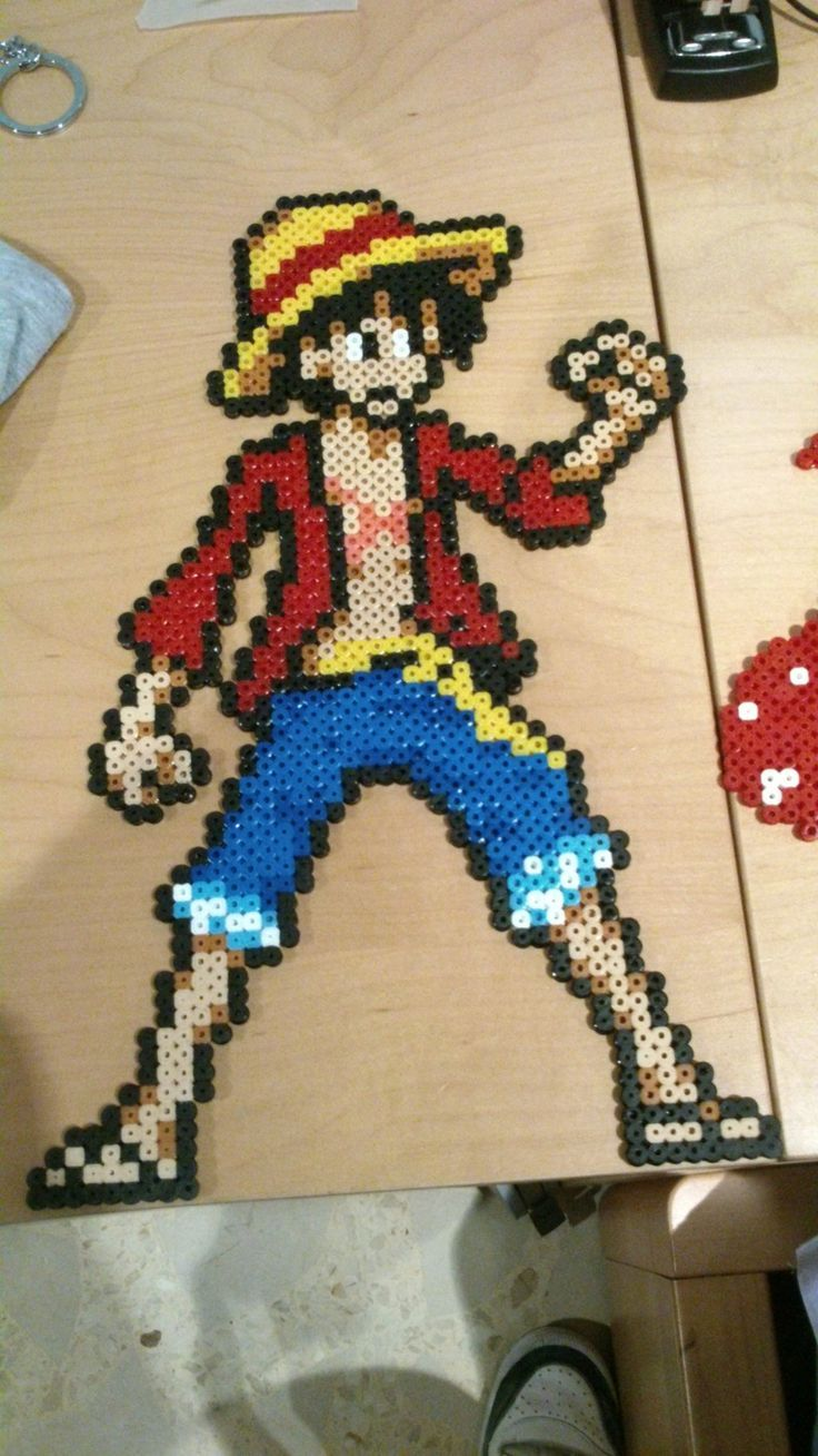 Bekannt 75 best Perler Beads One Piece images on Pinterest | One piece  QC11
