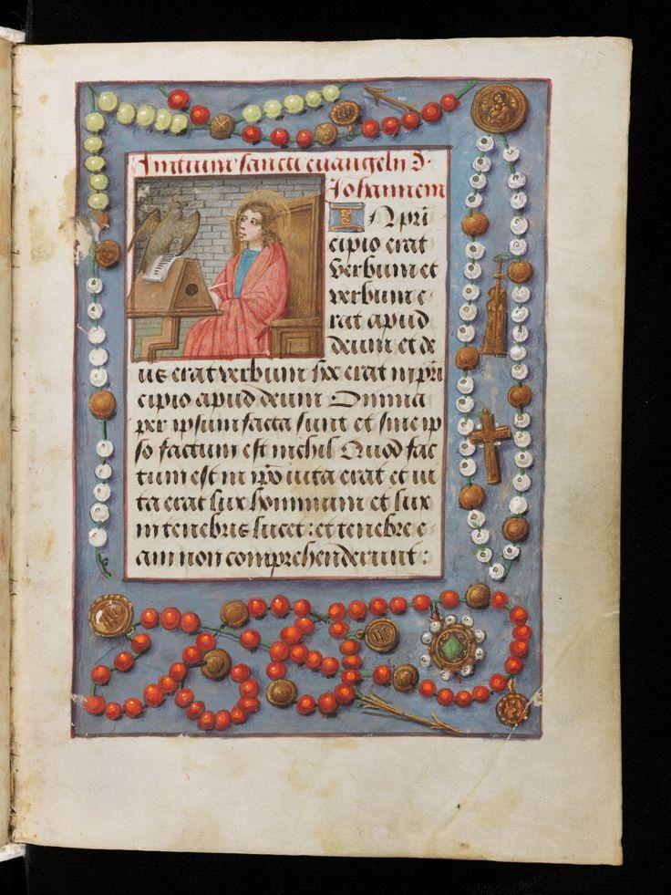 Country of Location:Switzerland Location:Neuchâtel Settlement, shelfmark:AF A28 Manuscript Title:Book of Hours Caption: Flanders, probably Bruges · about 1500 Folio: 15r