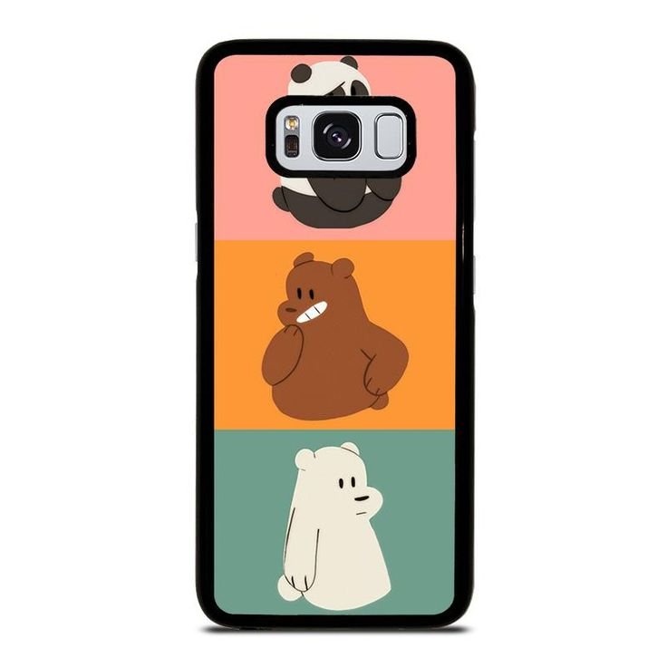 WE BARE BEARS 2 Samsung Galaxy S4 S5 S6 S7 S8 S9 Edge Plus Note 3 4 5 8 Case Cover