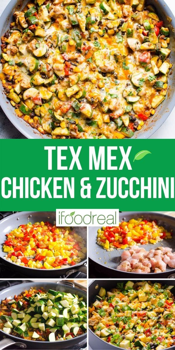 Tex Mex Chicken And Zucchini 30 Minute Meals Healthy Healthy Dinner Recipes Healthy Family Meals