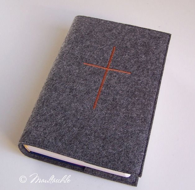 Bibel im Filzumschlag