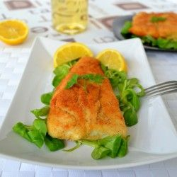 Battered hake fish recipe