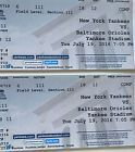 #Ticket  2 FIELD LEVEL New York Yankees vs. Baltimore Orioles tickets July 19 Yankee Stad #deals_us