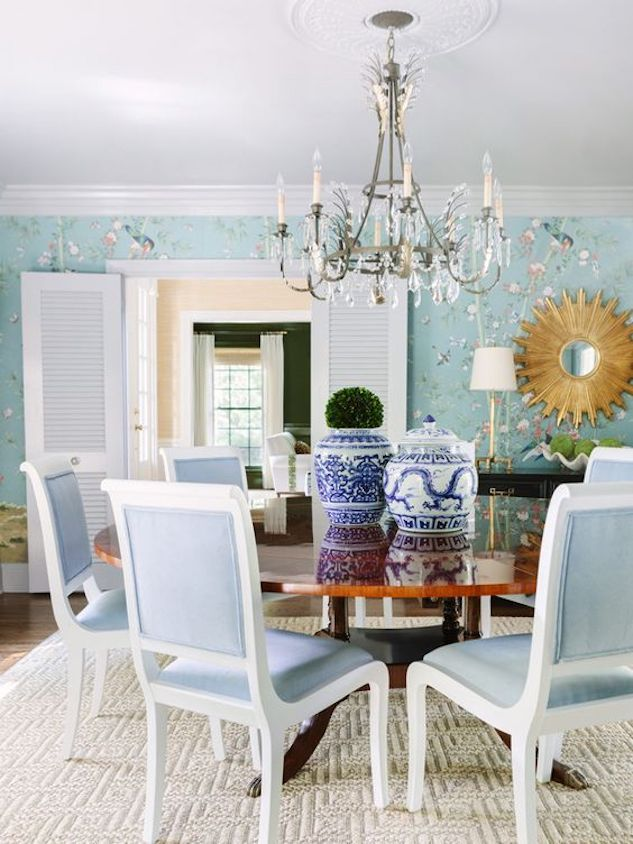 The Chinoiserie Dining Room Chinoiserie Chic In 2020 Modern Luxury Interior Home Decor Decor