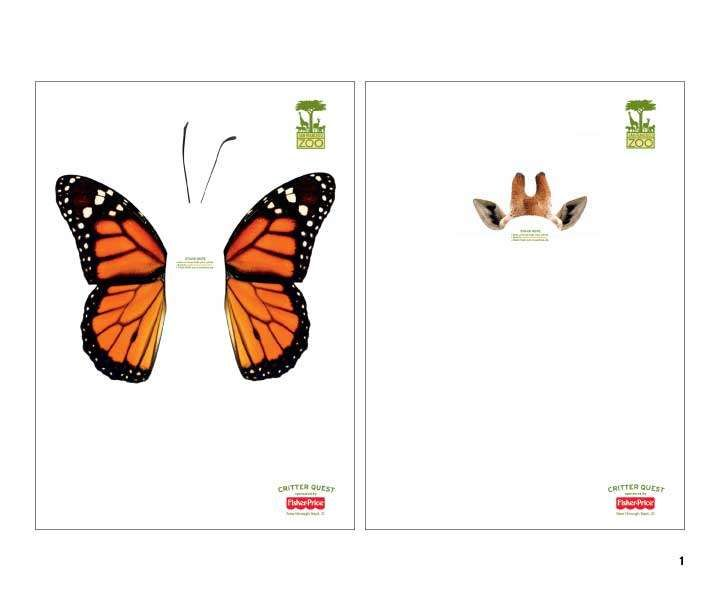 Interactive Animal Posters: San Fransisco Zoo Ads