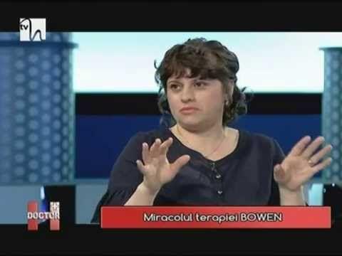 """Niculina Gheorghiță invitată la """"Doctor H"""" - Miracolul terapiei BOWEN, 8..."""